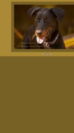 Vorschau der mobilen Webseite www.beauceron.at, von der Happy Horse Farm