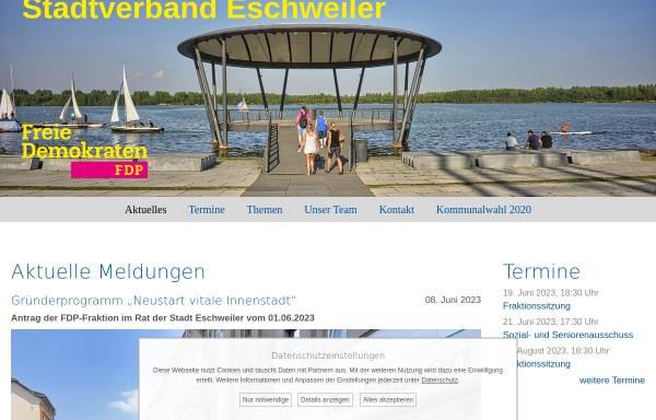 Vorschau von www.fdp-eschweiler.de, FDP-Stadtverband Eschweiler