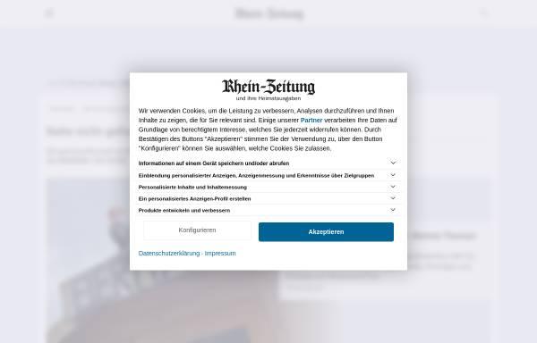 Vorschau von www.rhein-zeitung.de, Rhein-Zeitung NewsTicker