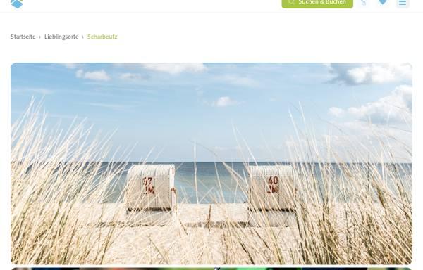 Vorschau von www.urlaub-scharbeutz.de, Ferienhäuser Anita und Egon Lübke