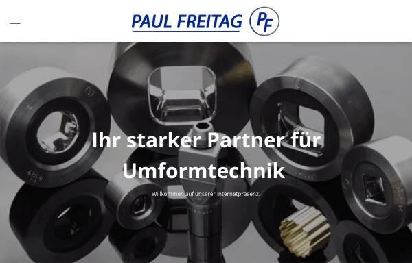 Vorschau von www.paul-freitag.de, Paul Freitag GmbH & CO. KG