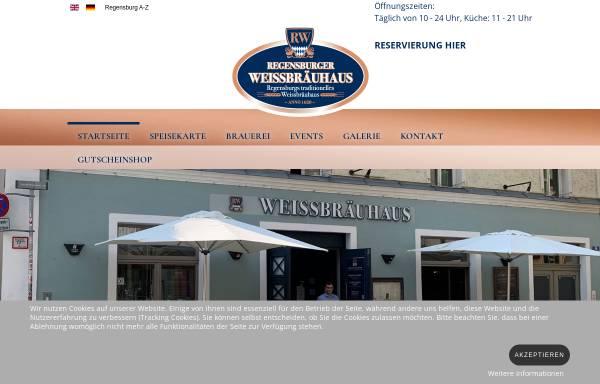 Vorschau von www.regensburger-weissbrauhaus.de, Regensburger Weissbräuhaus