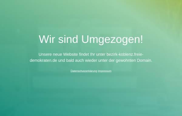 Vorschau von www.fdp-bezirk-koblenz.de, FDP-Bezirksverband Koblenz