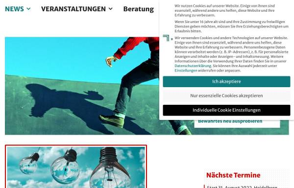 Vorschau von www.simon-weber.de, Simon, Weber & Friends GmbH - Gunthard Weber, Fritz Simon et. all.