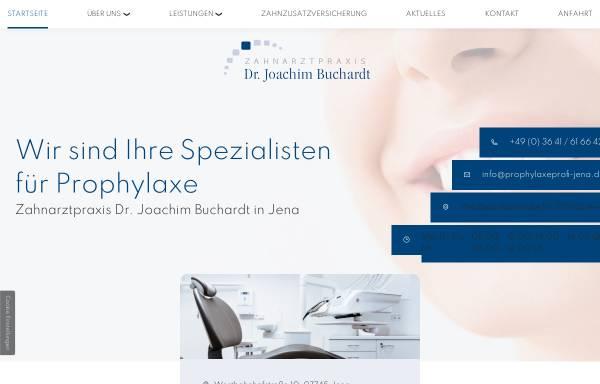 Vorschau von www.dr-buchardt.de, Zahnarzt Dr. med. dent. Joachim Buchardt