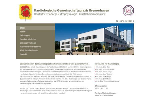 Vorschau von www.kardio-bremerhaven.de, Kardiologische Gemeinschaftspraxis Bremerhaven