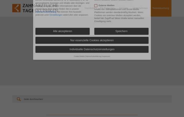 Vorschau von www.z-tagesklinik.de, Zahnärztliche Tageskliniken Dr. Eichenseer