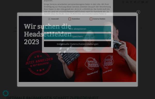 Vorschau von www.procom-bestmann.de, ProCom-Bestmann - Vertrieb + Service von Headsetlösungen und Bürocommunication e.K. Inh. Wulf Bestmann