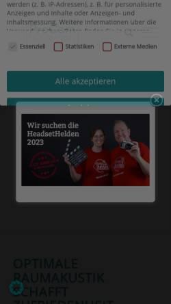 Vorschau der mobilen Webseite www.procom-bestmann.de, ProCom-Bestmann - Vertrieb + Service von Headsetlösungen und Bürocommunication e.K. Inh. Wulf Bestmann