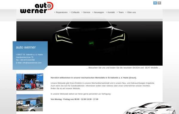Vorschau von www.autowerner.com, Auto Werner des Werner Malloth