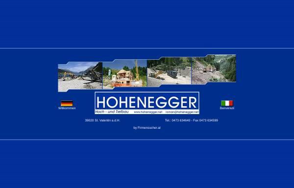 Vorschau von www.hohenegger.net, Hohenegger