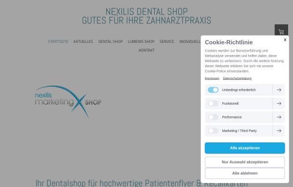 Vorschau von www.nexilis-marketing.de, Nexilis Verlag GmbH
