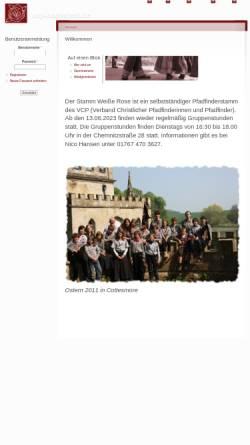 Vorschau der mobilen Webseite www.vcp-barmstedt.de, VCP Barmstedt