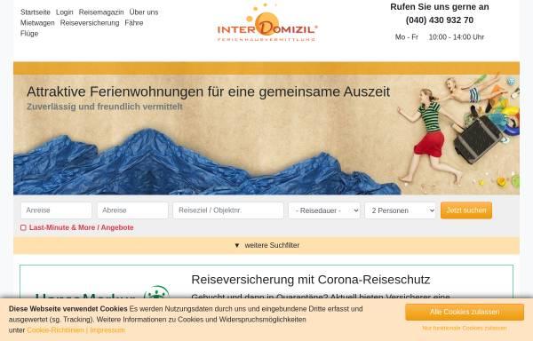 Vorschau von www.interdomizil.de, InterDomizil GmbH