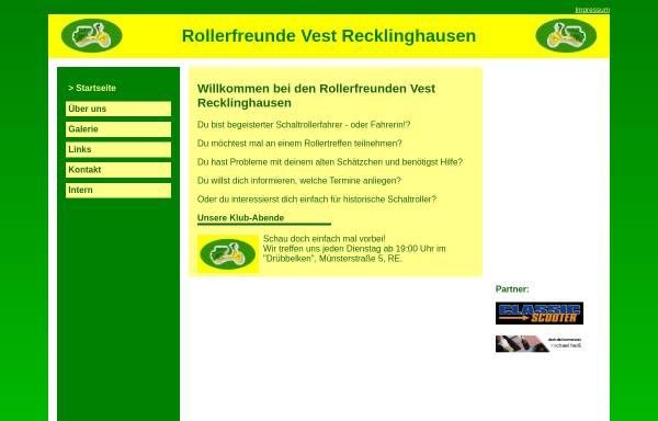 Vorschau von www.rollerfreunde-vest.durchgraf.info, Rollerfreunde Vest Recklinghausen