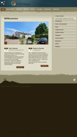 Vorschau der mobilen Webseite www.cgois.de, Christliche Gemeinschaft Oberissigheim e.V.