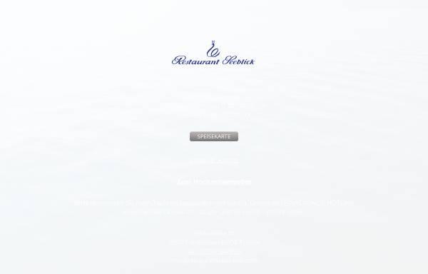 Vorschau von www.restaurantseeblick.com, Restaurant