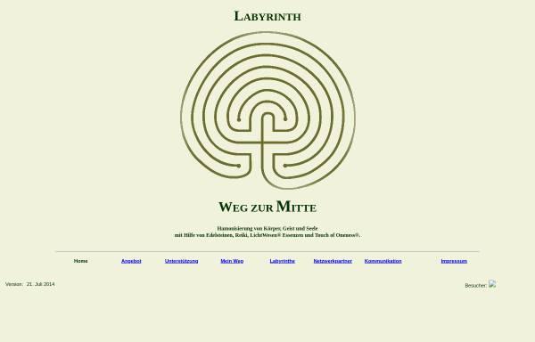 Vorschau von www.labyrinth.schutz-schicht.de, Labyrinth - Weg zur Mitte