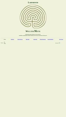 Vorschau der mobilen Webseite www.labyrinth.schutz-schicht.de, Labyrinth - Weg zur Mitte