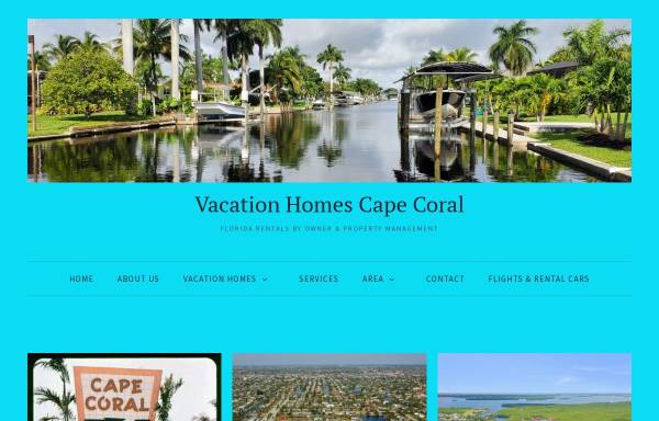 Vorschau von www.ferienhauscc.com, Blue Sky Property Management