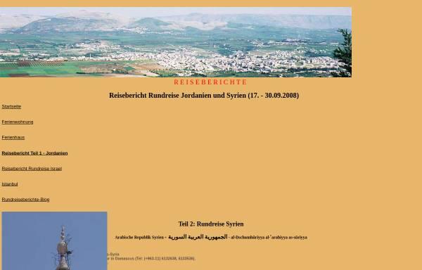 Vorschau von www.fewo-haarhausen.de, Reisebericht Rundreise Syrien 2008