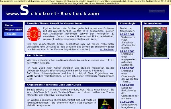 Vorschau von www.schubert-rostock.com, Akustik in Klassenräumen,