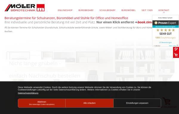 Moderne Bürotechnik Fritz Möller GmbH: Schreibwaren und Bürobedarf ...