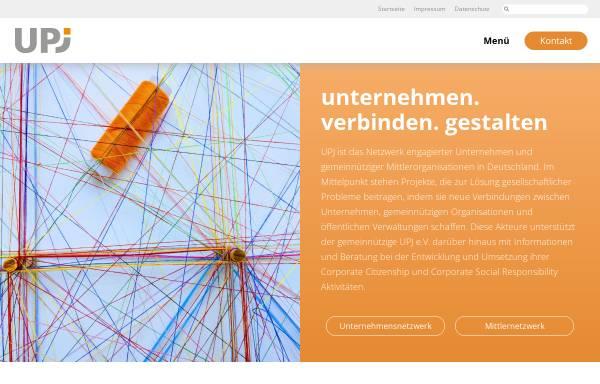 """Vorschau von www.diskutiere.de, Diskutiere, Gesellschaftliche Verantwortung - Bundesinitiative """"Unternehmen: Partner der Jugend"""" (UPJ) e.V."""
