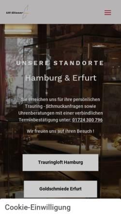 Vorschau der mobilen Webseite www.titanpur.de, Uli Glaser Design