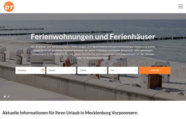 Vorschau von www.david-touristik.de, David-Touristik