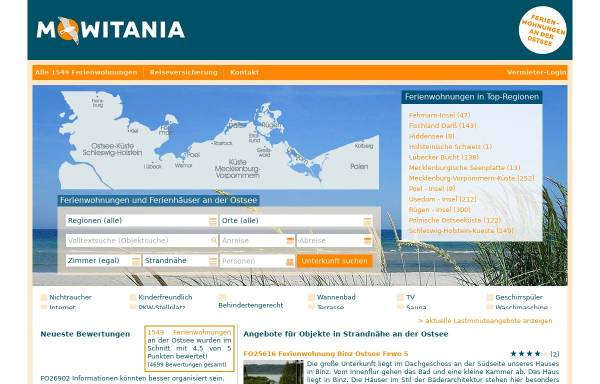 Vorschau von www.ferienwohnungostsee.net, FerienwohnungOstsee.NET, Inh. Wendt & Molitor GbR