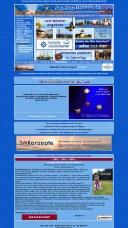 Vorschau der mobilen Webseite www.ost-see-urlaub.de, Ost-See-Urlaub, Sternal Info-Tec GmbH