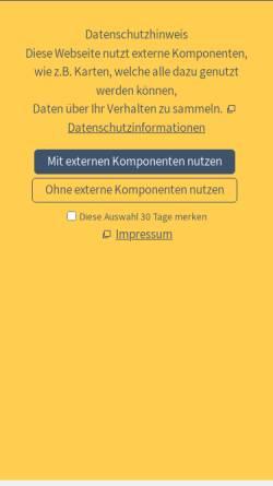 Vorschau der mobilen Webseite www.treffpunkt-ostsee.de, Treffpunkt Ostsee