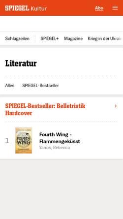 Vorschau der mobilen Webseite gutenberg.spiegel.de, Projekt Gutenberg: Georg Simmel