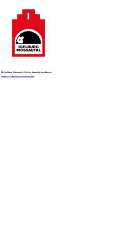 Vorschau der mobilen Webseite www.igelburg-mossautal.de, Igelburg Mossautal