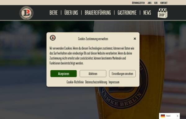 Vorschau von www.lemke.berlin, Brauhäuser Lemke