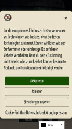 Vorschau der mobilen Webseite www.lemke.berlin, Brauhäuser Lemke