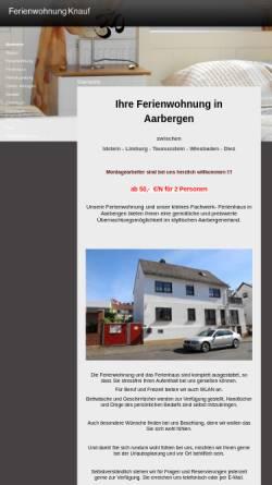 Vorschau der mobilen Webseite www.muellersleben.de, Ferienwohnung Müllersleben