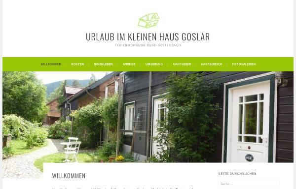 Vorschau von ferienwohnung-goslar.ruhe-hollenbach.de, Ferienwohnung Goslar