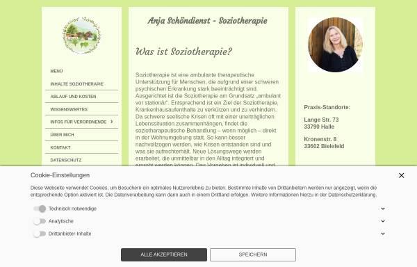 Vorschau von www.psychotherapie-kreft.de, Anja Kreft
