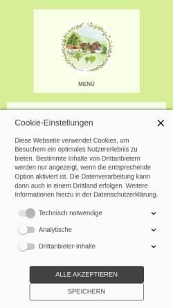Vorschau der mobilen Webseite www.psychotherapie-kreft.de, Anja Kreft