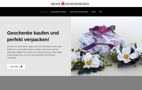 Vorschau von www.meine-geschenkidee.eu, Geschenkartikel Christiane Schausten
