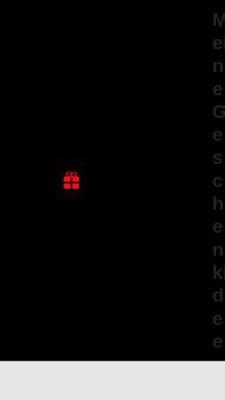 Vorschau der mobilen Webseite www.meine-geschenkidee.eu, Geschenkartikel Christiane Schausten