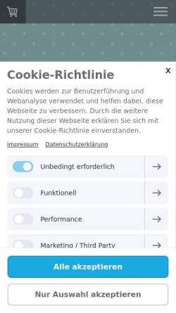 Vorschau der mobilen Webseite www.millimi.de, millimi