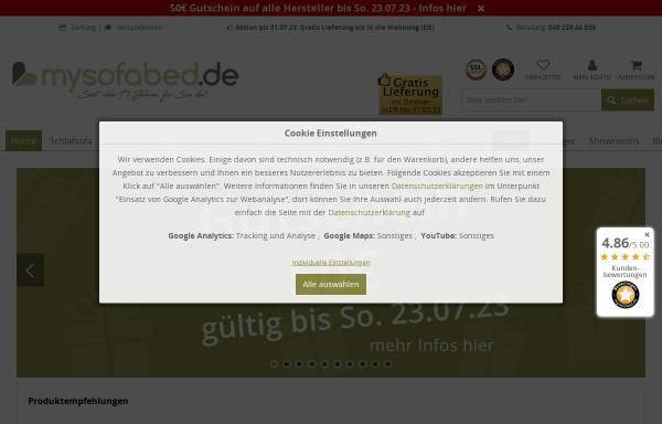 MySofabed.de: Design, Möbel mysofabed.de