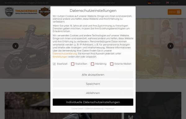 Vorschau von www.thunderbike.de, Thunderbike Customs