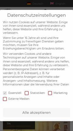 Vorschau der mobilen Webseite www.thunderbike.de, Thunderbike Customs