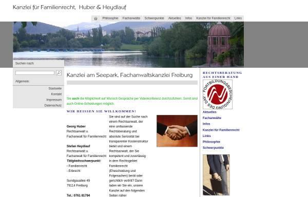 Vorschau von www.fachanwalt-freiburg.de, Huber, Georg