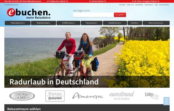 Vorschau von www.ebuchen.com, Destinationsentwicklung & Marketing GmbH
