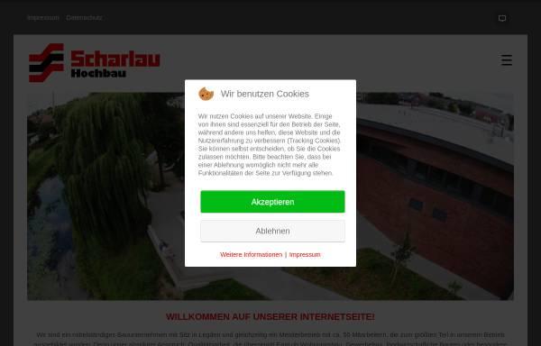 Vorschau von www.scharlau-hochbau.de, Scharlau Hochbau